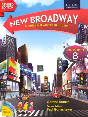 Oxford New Broadway English Course book For Class 8