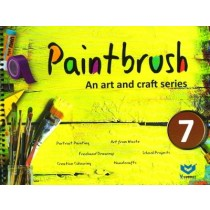 Paintbrush an Art and Craft Series Class 7