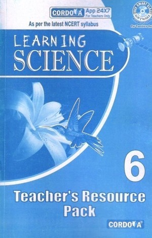 Cordova Learning Science Solution book for Class 6