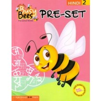 Acevision Busy Bees Pre-Set Hindi Book 2