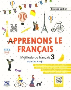 Apprenons Le Francais Methode de Francais Book 3