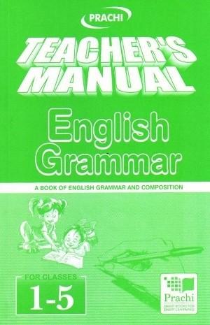 Prachi English Grammar For Classes 1 to 5 (Teacher's Manual)