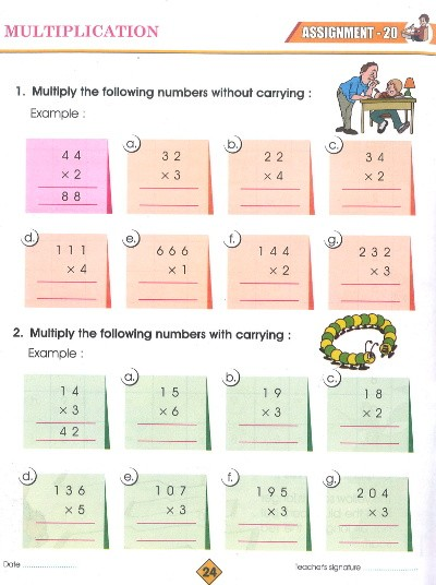 Radison Maths Practice Class 2