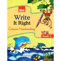 Viva Write It Right Cursive Handwriting For Class 4