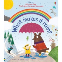Usborne Lift-the-Flap First Questions and Answers What makes it rain?