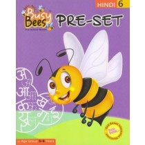 Acevision Busy Bees Pre-Set Hindi Book 6