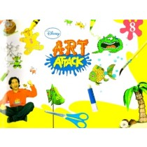 Disney Art Attack for Class 8