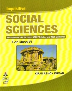 S chand Inquisitive Social Science For Class 6