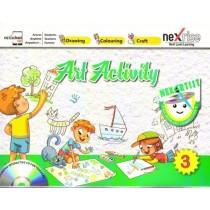 Nexrise Art Activity Book for Class 3