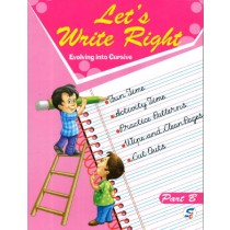 Let's Write Right Part B For Class KG