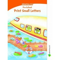 Grafalco Pre-School Print Small Letters Book