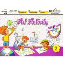 Nexrise Art Activity Book for class 2