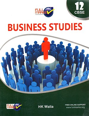 Full Marks Business Studies for Class 12