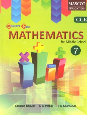 Concept First Mathematics For Middle School Class 7