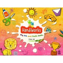 Bharati Bhawan HandiWorks My Art and Craft Book Primer A