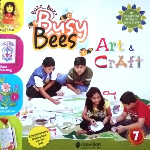 Buy Acevision Busy Bees Art Craft Class 7 At Best Price In India