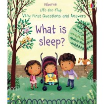 Usborne Lift-the-flap Very First Questions and Answers What is Sleep?