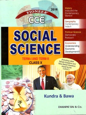 Social Science For Class 10 (Term 1 & Term 2) by Kundra & Bawa