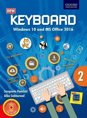 Oxford Keyboard Windows 10 And MS Office 2016 Class 2