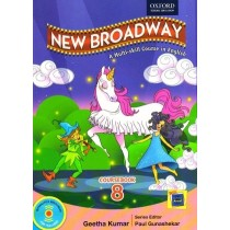Oxford New Broadway English Coursebook Class 8 New Edition