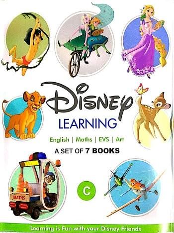 1 Disney Learning Books Set For UKG Class - C ( 7 Books Set)