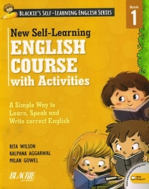New Self Learning English Course With Activities Class 1