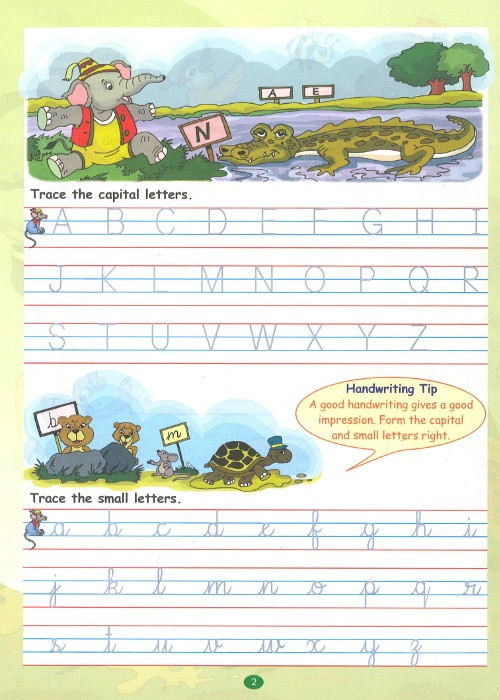 Viva Write It Right Cursive Handwriting For Class 2