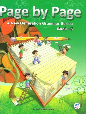 Page By Page A New Generation Grammar Series For Class 5