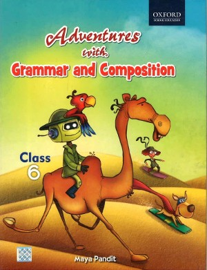 Oxford Adventures With Grammar And Composition For Class 6