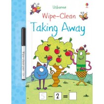 Usborne Wipe-Clean Taking Away