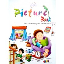 Picture Book My First Dictionary and Action Words