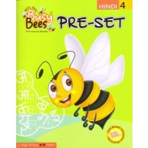 Acevision Busy Bees Pre-Set Hindi Book 4