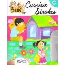 Acevision Busy Bees Cursive Strokes Book - C