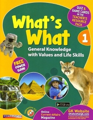 Viva What's What General Knowledge Class 1