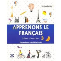 Apprenons Le Francais Cahier d'exercices 3