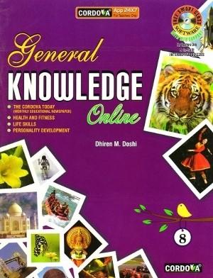 Cordova General Knowledge Online Book 8