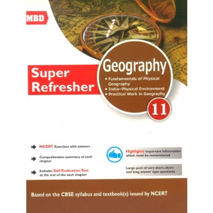 MBD Super Refresher Geography Class 11 (English Medium)