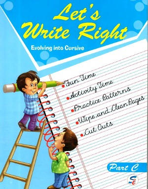 Let's Write Right Part C For Class KG