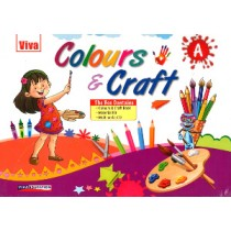 Viva Colours & Craft A (With Material Kit & CD)