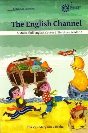 Indiannica Learning The English Channel Literature Reader Class 2