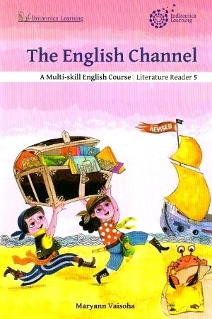 Indiannica Learning The English Channel Literature Reader Class 5