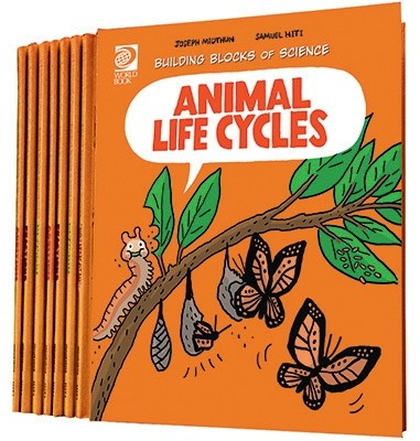 World Book Encyclopedia Building Blocks of Life Science 2