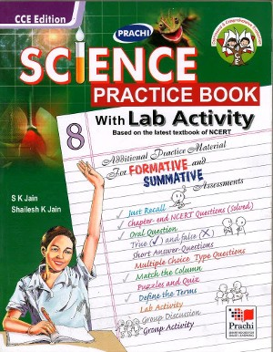 Science Practice Book With Lab Activity For Class 8