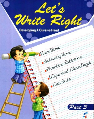 Let's Write Right Part 3 For Class 3