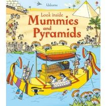 Usborne Look Inside Mummies & Pyramids