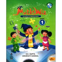 Maths Wiz A Course In Mathematics For Class 1