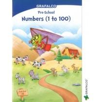 Grafalco Pre-School Numbers 1 to 100