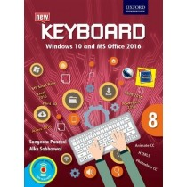 Oxford Keyboard Windows 10 And MS Office 2016 for Class 8