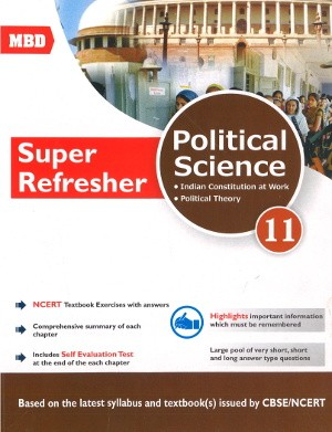 MBD Super Refresher Political Science Class 11