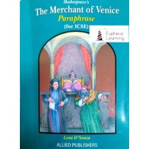 Shakespeare's The Merchant of Venice Paraphrase For ICSE